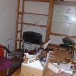 Das Arbeitszimmer leert sich